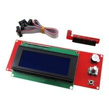 الترويج 3d الطابعة كيت reprap الذكية 3d أجزاء الطابعة شاشة تحكم reprap التعليات 1.4 2004 lcd lcd 2004 السيطرة