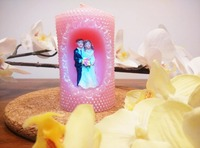 NEW The bride and groom art candle Weddings Home Decoration Candle Birthday Party Valentine's Day
