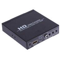 ABD Plug Scart/hdmi HDMI 720 P 1080 P HD Video Dönüştürücü Kutusu HDTV DVD STB için HDMI monitör veya projektör