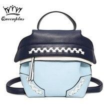 Оригинальный дизайн Новинка 2017 творчески сумка тенденция школа ветер студент женская сумка на плечо ткань