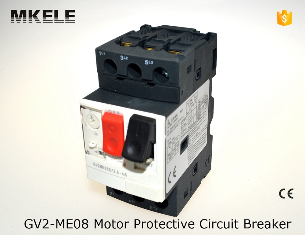 GV2-ME08 Electric Motor Circuit Breaker with Thermal Magnetic Protection GV2-ME08 Current 2.5-4A Beakers wtitech w 08 1 micro usb male to usb male charging