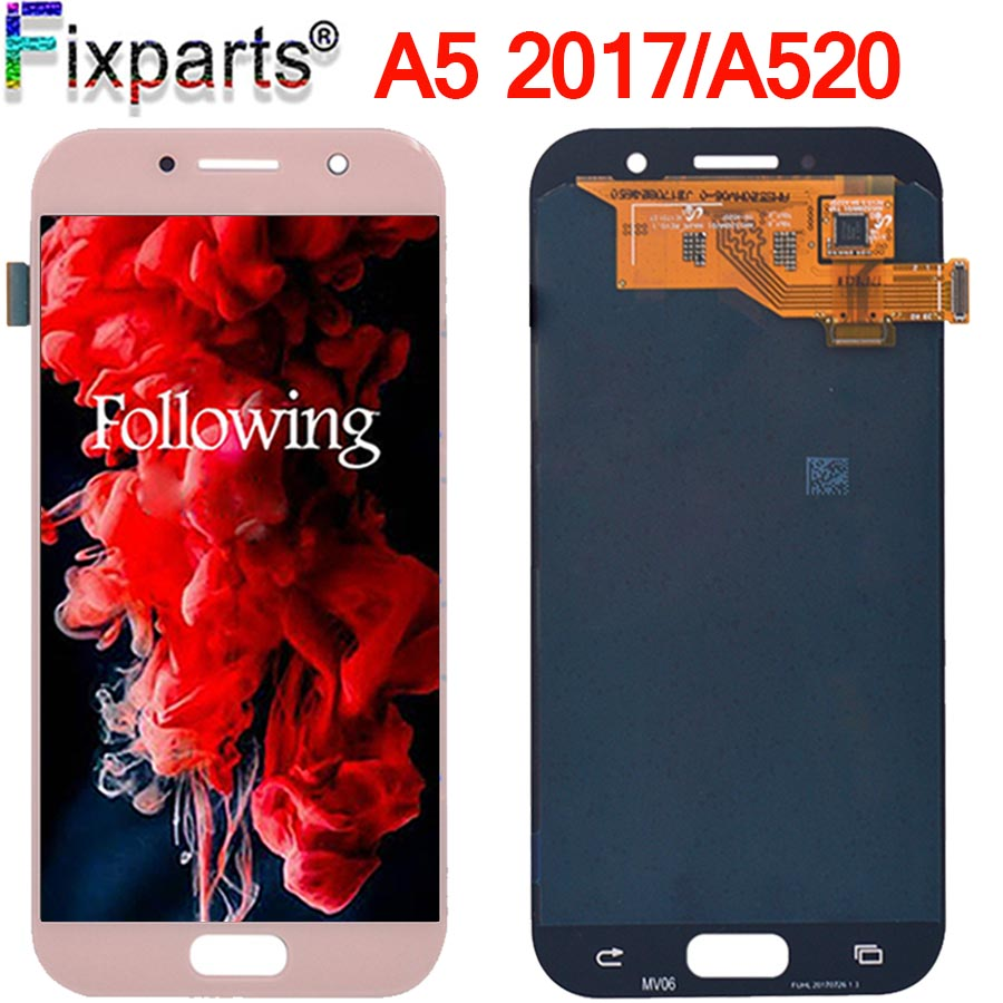 Tested 5.2 For Samsung Galaxy A5 2017 A520 LCD Display Touch Screen Digitizer Assembly Replacement For Samsung A520 LCDTested 5.2 For Samsung Galaxy A5 2017 A520 LCD Display Touch Screen Digitizer Assembly Replacement For Samsung A520 LCD