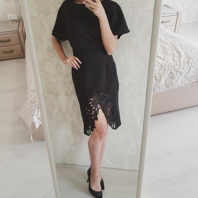 Rosetic gothic dress 2017 mujeres hollow summer dress sexy party cinturones de malla asimétrica vestidos de negro vestidos de verano femenino de la vendimia