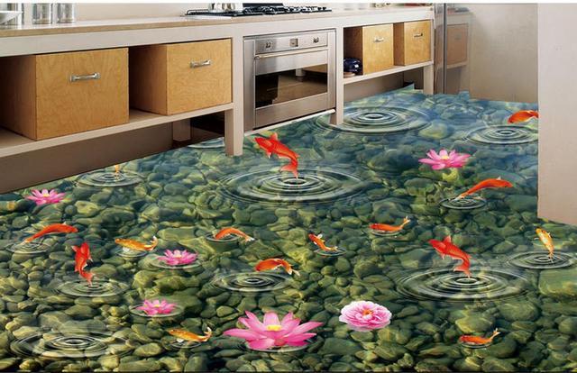 Hoge kwaliteit pvc tegel vloeren custom vinyl vloeren lijmen