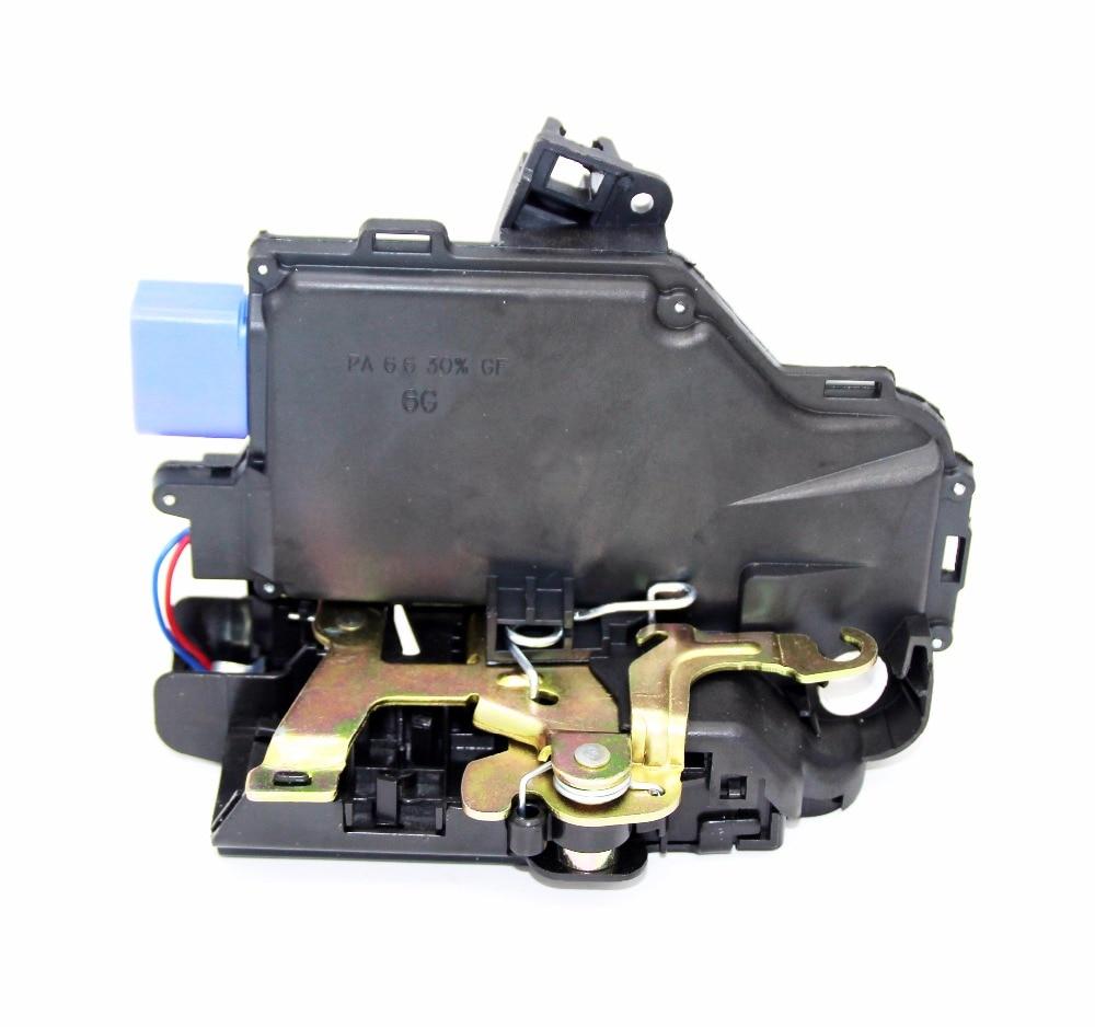 FRONT LEFT SIDE DOOR LOCK ACTUATOR CENTRAL MECHANISM FOR VW GOLF PLUS (5M1, 521) 2005-2013 3D1837015A