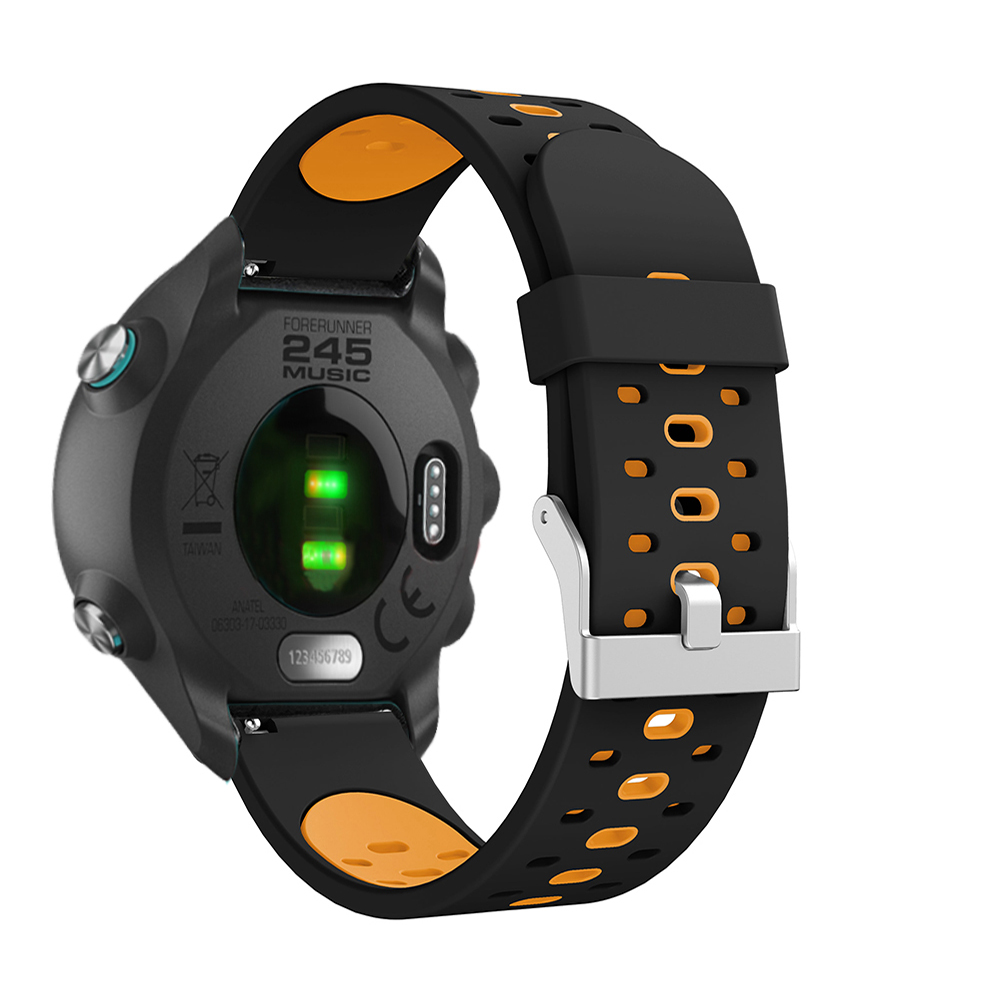 20mm strap For Garmin Forerunner 245 645 245M band For Samsung Galaxy Watch Active Gear S2 Galaxy 42mm Gear sprot wristband in Watchbands from Watches