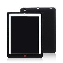 De silicio Cubierta Posterior Para el ipad 2/3/4 Párr Capa Coque Caso para iPad2 para iPad3 Para iPad4 + Stylus pluma