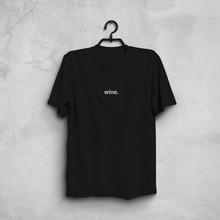 Wine T-Shirt  / 4 Colors