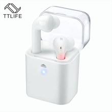 TTLIFE оригинальный СПЦ True Беспроводной Bluetooth наушники двойной Близнецы гарнитура двойной стерео вкладыши для IPhone Xiaomi лучшие Дизайн