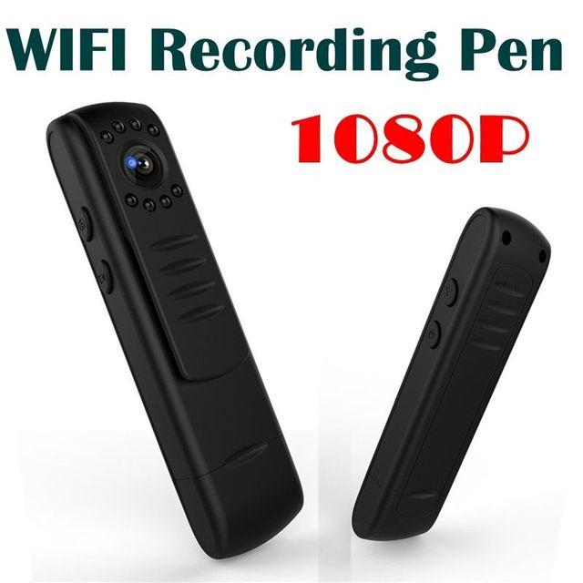 2017 Hot Sale L7 1080P HD WIFI Mini Camera Security Monitor Body Camera Record Pen DVR WIFI Recording Pen Video Recorder PK C11