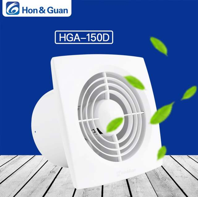 22W 6 Inch Home Ventilation Exhaust Fan Ceiling and Wall Mount Fans for  Kitchen Bathroom Garage, Super Silent, High CFM