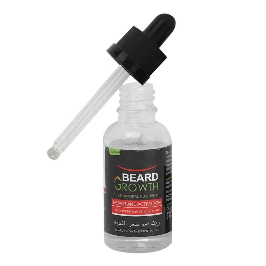 1 бутылка 40 мл мужское масло для роста бороды мягкая питающая увлажняющий бальзам средства ухода за бородой эссенция выпадения волос лечение мужчин t