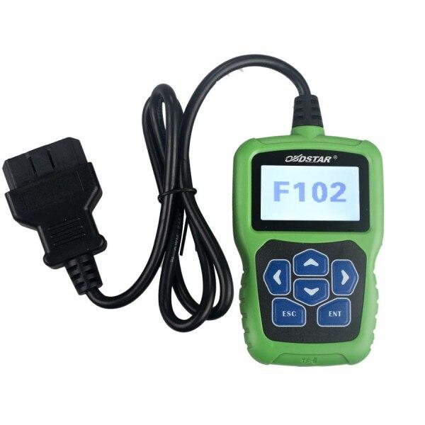 OBDSTAR Nissan/Infiniti Automatische Pin Code Reader F102 mit Wegfahrsperre und Kilometerzähler Funktion