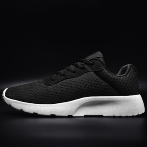 2019 Spring Summer Men Women Sneakers Lightweight Sport Shoes Black White Walking Jogging Shoes Big Size 35-47 Outdoor Trainers(China)