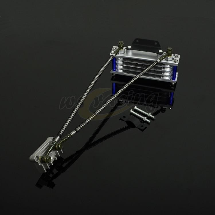 Motorcycle Oil Cooling Cooler Radiator for RF50 XR50 Chinese Made Pit Dirt Bike ATV Quad 125 140CC Tao Tao Bosuer KAYO Apollo
