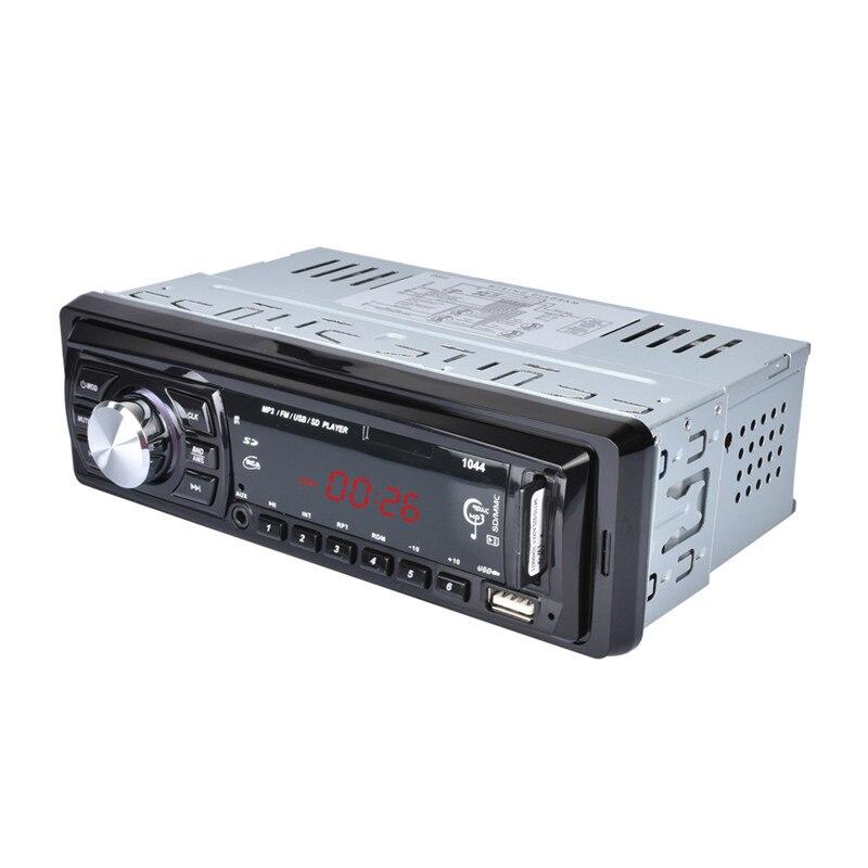 Universal Car Radio 1 DIN frame audio player WMA USB MP3 12v car stereo FM auto radio tuner remote control autoradio