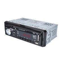 Универсальный автомобильный Радио 1 DIN frame аудио плеер wma USB MP3 12 В стерео Авто радио fm тюнер пульт дистанционного управления Авторадио