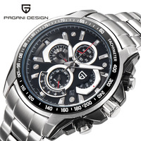 PAGANI DESIGN 2019 New Men 30m Waterproof Sport Quartz Watch Multifunction Military Watches Men Luxury Clock Relogio Masculino