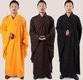 Buddhist Robe Men Women Frock Buddhist Supply Long Meditation Clothing Monk
