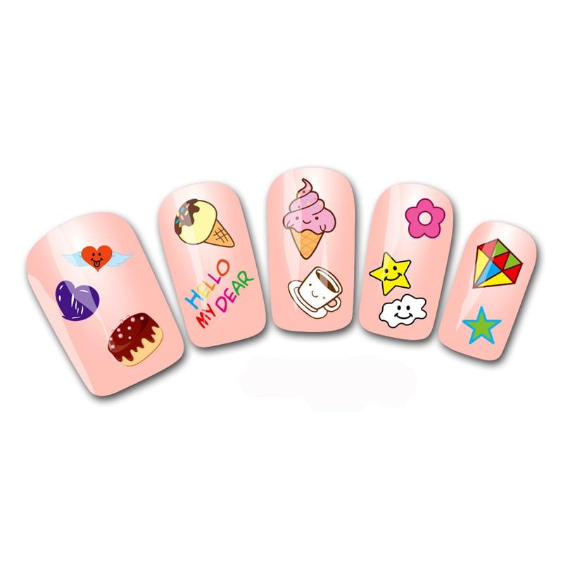 Water Decals Transfer Nails Art Stickers Cute Cartoon Nail Design