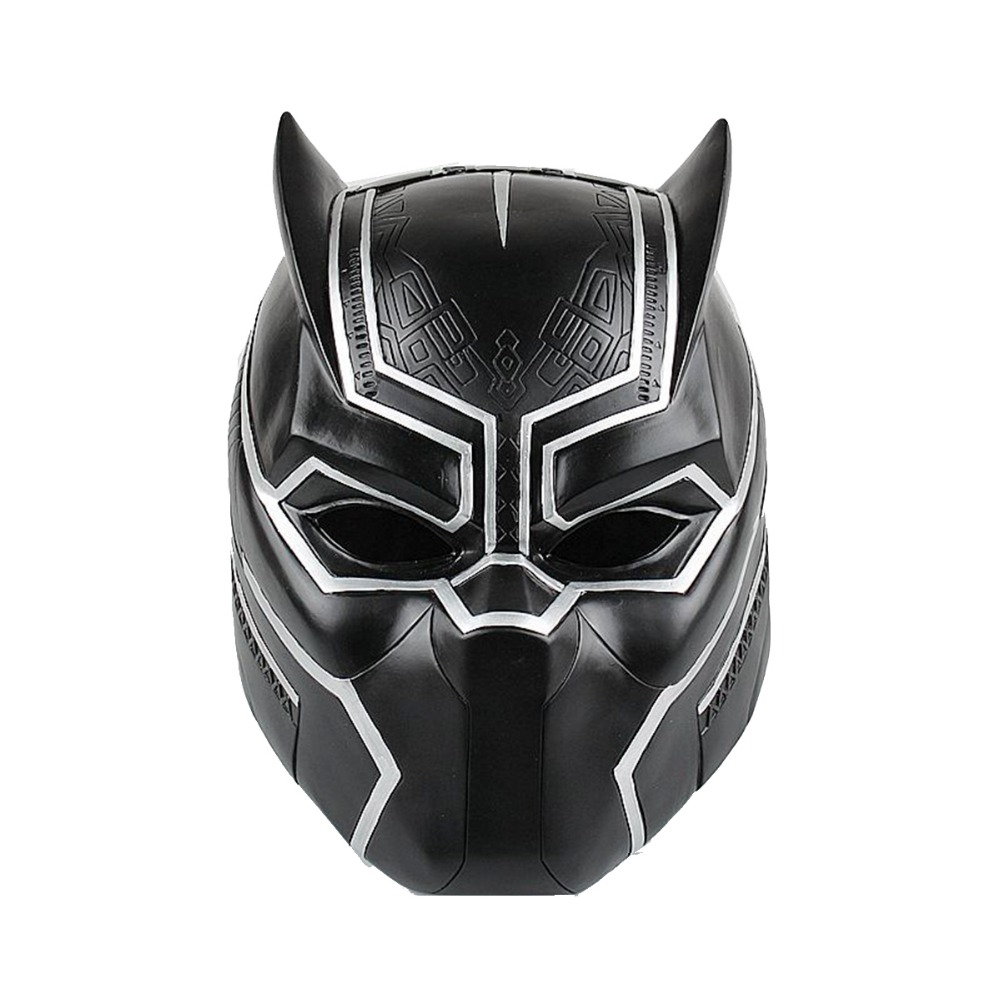 Superhero Black Panther Helmet Mask Captain 3 Civil War Cosplay Mask for Adult and Teen YXTK006 Free Shipping avengers captain america 3 civil war black panther 1 2 resin bust model panther statue panther half length photo or portrait