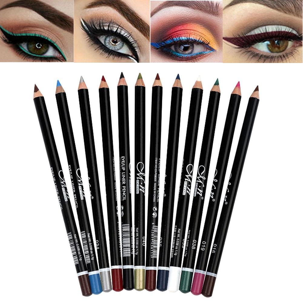Beauty Essentials Menow Matte Eyeliner Pencil Rose Red Blue White Eyeliner Waterproof Long Lasting Shimmer Eyeliner Pen Wood Eye Liner Mn048 Outstanding Features