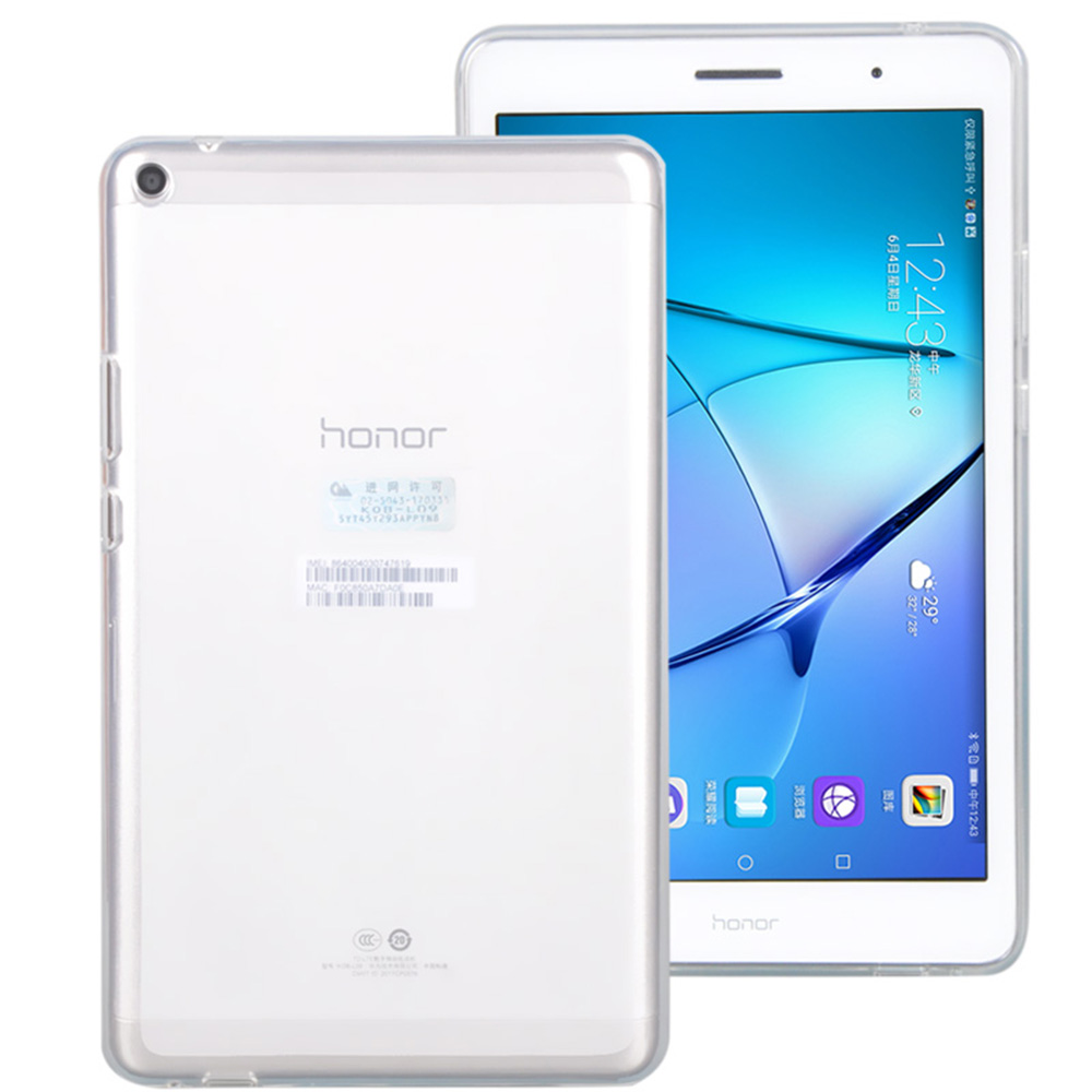 Case for HUAWEI MediaPad T3 8.0 Soft TPU White Cover for HUAWEI honor play 2 8.0 inch KOB-L09 KOB-W09 Flatbook Computer+pen