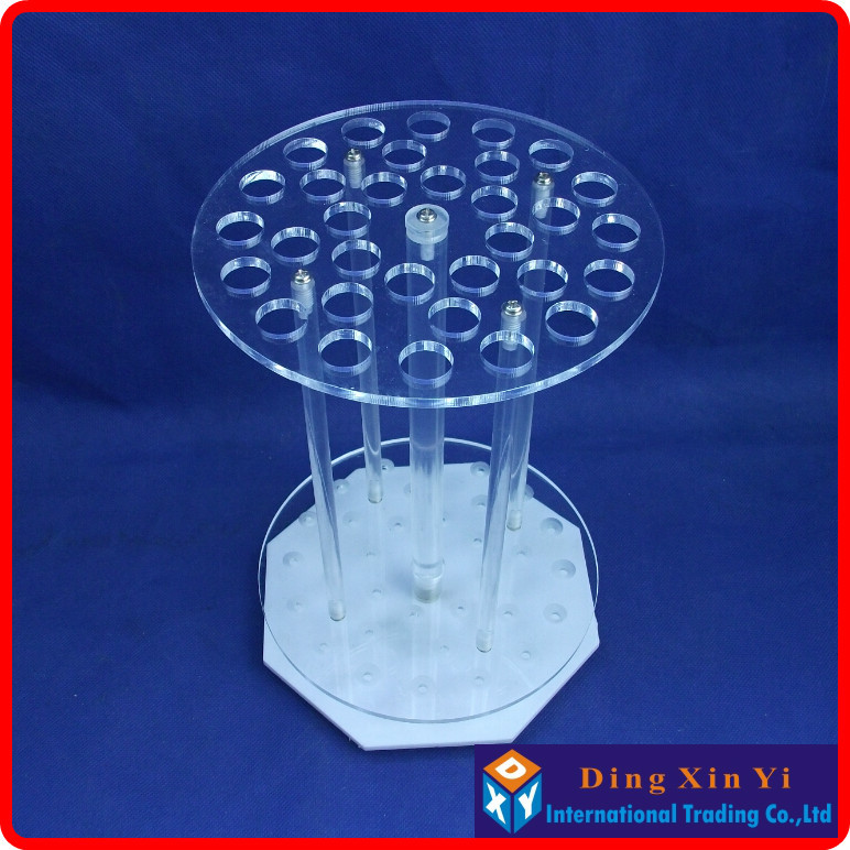 32 holes Organic glass graduated pipette rack 32 holes circular pipette stand pipette holder circular pipet rack new arrival 1pcs 10ml manual pipette pipettor controller 5pcs 10ml glass graduated pipette free shipping