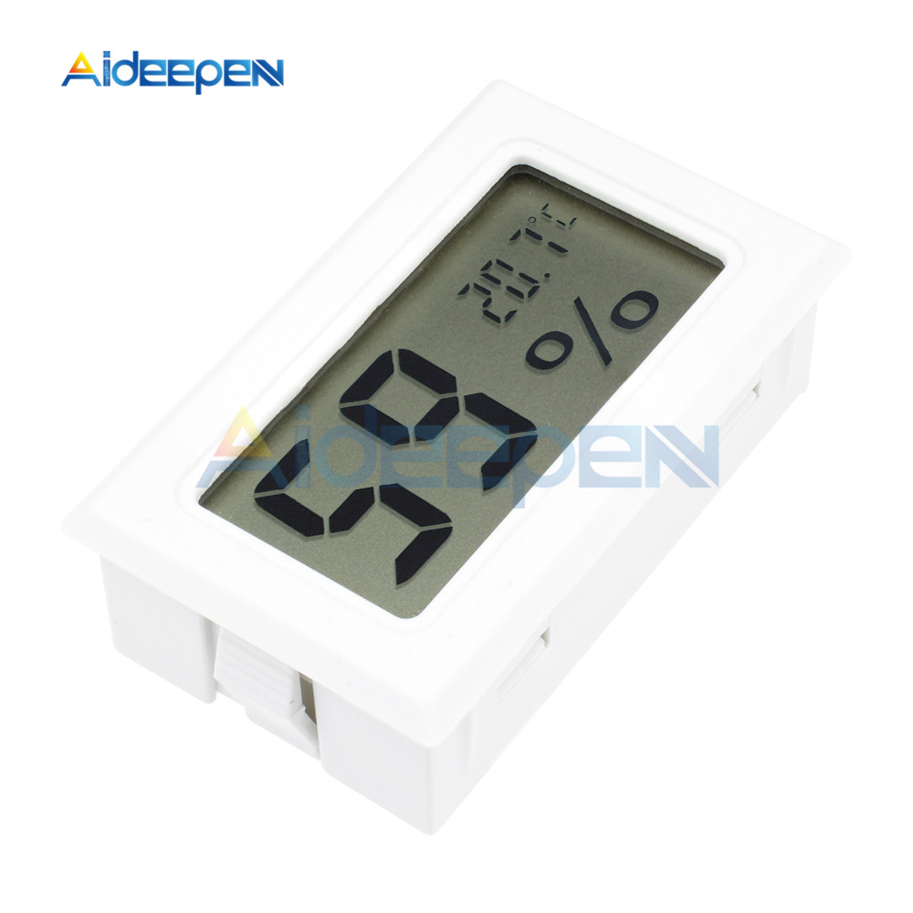 LCD Digital Thermometer Hygrometer for Freezer Refrigerator Fridge Temperature Sensor Humidity Meter Gauge Instruments Cable 22