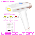 Lescolton 4в1 IPL эпилятор, постоянное лазерное удаление волос, ЖК-дисплей, 1000000 импульсов, лазерный Фотоэпилятор для бикини