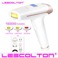 Lescolton 4in1 IPL épilateur épilation Laser permanente affichage LCD 1000000 impulsions dépilador un laser Bikini photoépilateur