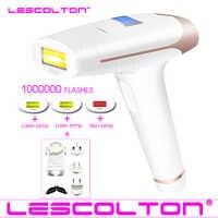Lescolton 4in1 IPL épilateur Permanent Laser épilation LCD affichage 1000000 impulsions dépilador un laser Bikini photoépilateur