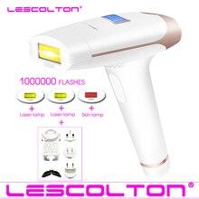 Lescolton 4в1 IPL эпилятор постоянный Лазерный Удаление волос ЖК-дисплей 1000000 импульсов depilador лазерный бикини Фотоэпилятор