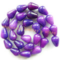 (Min. Order is $10)14x10mm Sugilite Teardrop loose bead 15.5 inch QR05