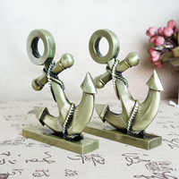Metal Crafts Alloy Anchor Decoration Photography Props Gift Anchor Alloy  rustic  home decoration accessories for living room