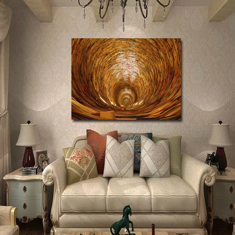 Unframed Big Size Canvas Abstract Oil Painting For Living Room Home