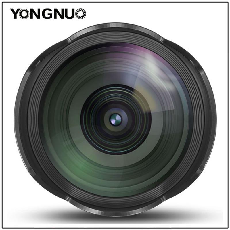 YONGNUO 14 MM F2.8 objectif premier Angle Ultra grand Angle YN14mm objectif de mise au point automatique pour Canon 5D Mark IV 700D 80D t3i m10 60d t6i 60d 1200D