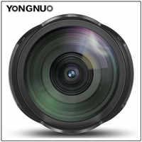 YONGNUO 14MM F2.8 Ultra-wide Angle Prime Lens YN14mm Auto Focus Lens for Canon 5D Mark IV 700D 80D t3i m10 60d  t6i 60d 1200D