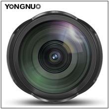 YONGNUO 14 мм F2.8 ультраширокоугольный объектив yn14мм Автофокус Объектив для Canon 5D Mark IV 700D 80D t3i m10 60d t6i 60d 1200D