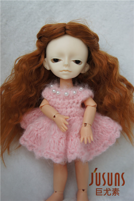 1/12 BJD doll wigs  Long princess curly wig  Synthetic mohair doll wigs 4-5 inch doll accessories стоимость