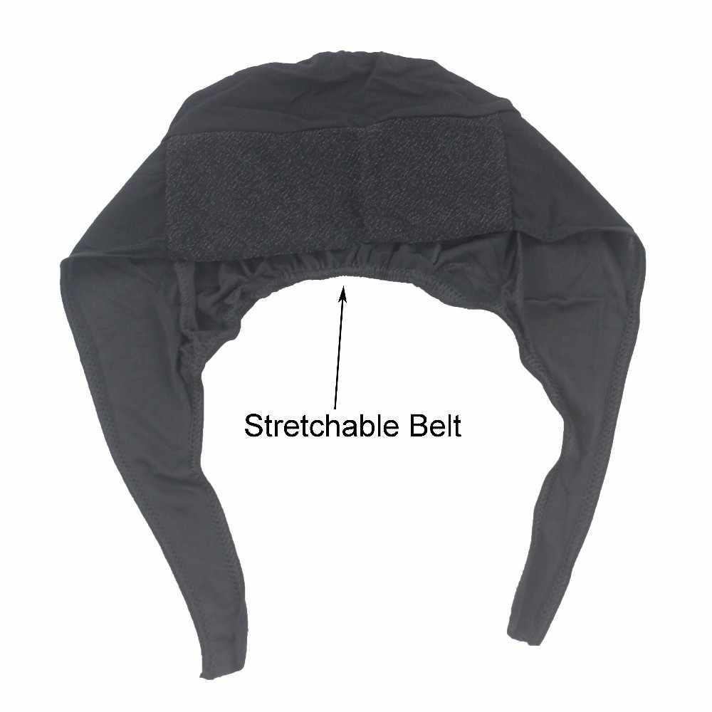 Растягивающаяся шапочка под хиджаб Кепка шаль мусульманская Косынка внутренняя повязка для головы хиджаб полиэфирное волокно много цветов оптом