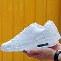 Top venta estreno hombres zapatos casual low top zapatos planos de malla de zapatos para caminar al aire libre hombre entrenadores de tenis masculino zapatillas 39 ~ 44