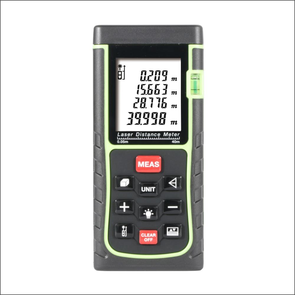 RZ Handheld Digital Laser Abstand Meter Reichweite Finder Entfernungsmesser 40 m 50 m 60 m 70 m 80 m 100 m Band Trena Herrscher Tester Hand Werkzeug