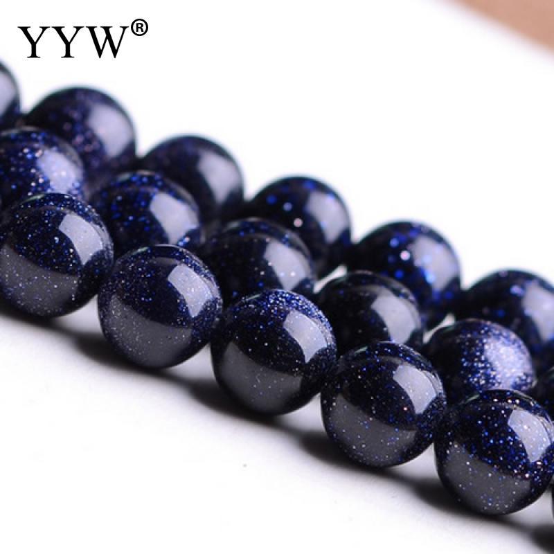 Natural 4 6 8 10 12 mm Dark Midnight Blue Goldstone 8mm Round Beads запчасть tetra крепление для внутреннего фильтра easycrystal 250