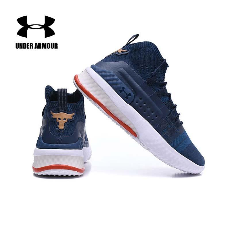 Sob a Armadura Dos Homens Projeto Rocha 1 Basketball shoes athletic Training botas Zapatillas deportiva hombre sapatilhas Almofada US7-11
