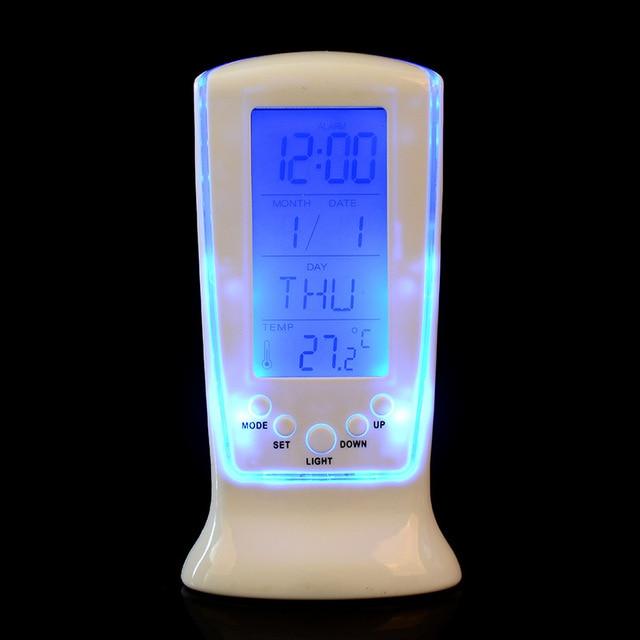 Moderner Wecker 2017 moderne elektronische led luminova kreative uhren cube horloge