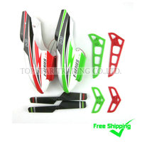 Combo 038 Free Shipping Sales Promotion MJX F45 F645 Spare Parts Accessories Green And Red Canopy