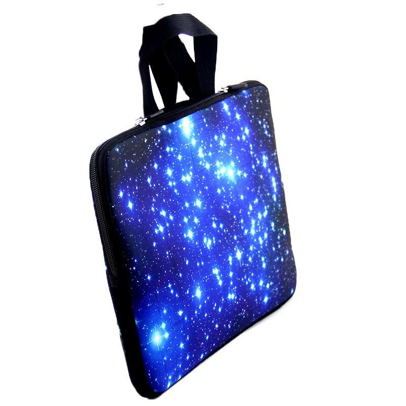Sinine Galaxy sülearvuti kott tõmblukuga neopreenist sülearvuti - Sülearvutite tarvikud - Foto 3