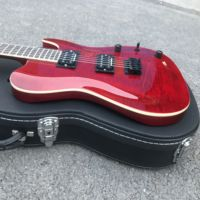 free shipping music gift wine red TELE electric guitar donation to church musician gift best electric guitar