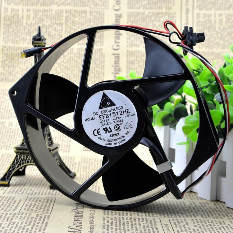 New original 17238 170 * 150 * 3812V fan server industrial computer high speed fan EFB1512HE недорго, оригинальная цена